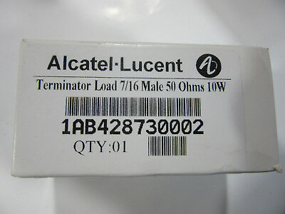 Amphenol Alcatel-lucent 1ab428730002 Terminal Load 716 Male 50 Ohm 10w New