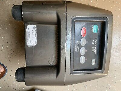 Waring Cb15 Food Blender 3.75 Hp W Touchpad.  Base Only