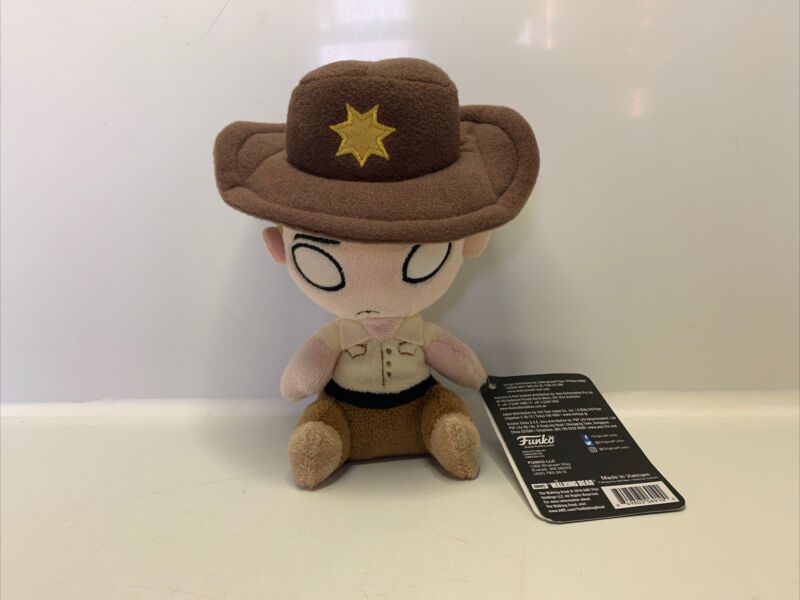 Funko+Mopeez%3A+The+Walking+Dead+RICK+GRIMES+6%22+Collectible+Plush+Figure+Soft+Toy