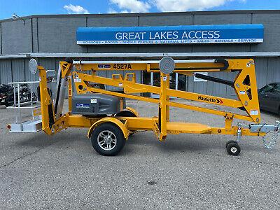 New 2021 Haulotte Bil-jax 45 27a Towable Boom Lift Man 4527a 4527a