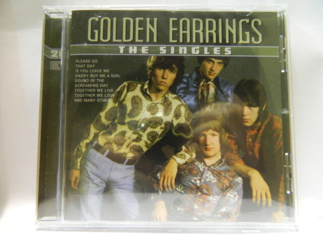 Golden EarringsThe Singles CD NEU & OVP 20 TRACKS 8712089050228  REGAL3