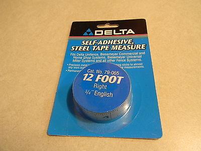 Deltabiesemeyer 79-065 12 Rh Tape 34 English Markings 10-2