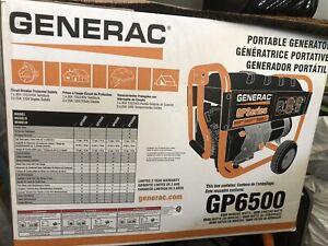 Génératrice GP6500