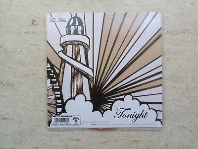"TIN MAN ""TONIGHT""/""ILLUSION OF LOVE"" LTD  EDITION CLEAR RED VINYL 7"" SINGLE"