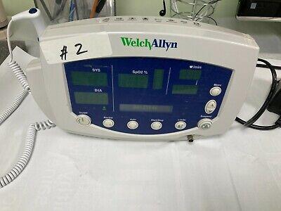 Welch Allyn Vital Sign Monitor 53nto 300 Series Nibp Spo2 Temp Item 2