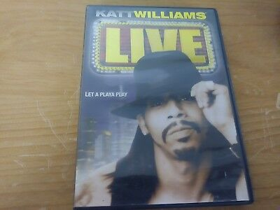 KATT WILLIAMS LIVE STAND UP COMEDY DVD MOVIE FILM DISC THICKER THAN THIEVES 2005