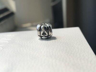 New Pandora Jack O Lantern Halloween Pumpkin Charm 790393 Sterling Silver