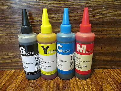 BULK INK REFILL BOTTLES FOR EPSON Expression ET-2500 ET-2550 ET-2600 ET-2650](Bulk Bottles)