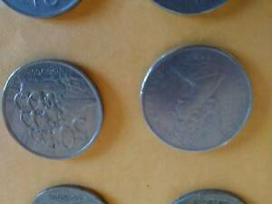 ROUND 50 CENT COINS NEW ZEALAND  11  1967 TO 1984 $ 25 LOT Riverside West Tamar Preview