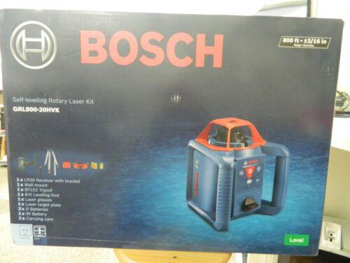 Bosch Self-Leveling Rotary Laser Kit GRL800-20HVK *BRAND NEW*