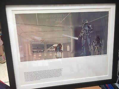 Star Wars Ralph McQuarrie 1977 Art Print Stormtrooper Lightsaber Paintings