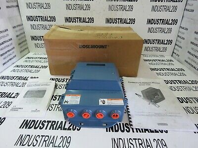 Rosemount Flow Meter Transmitter 8712hr12n0m4 New In Box