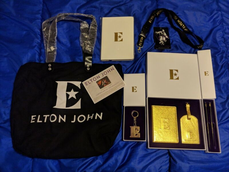 Elton John Farewell Yellow Brick Road Tour - Complete VIP Gift Package