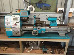 Mectec BL250 metal lathe, with accessories Logan Village Logan Area Preview