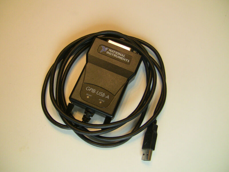 National Instruments NI GPIB-USB-A Interface Adapter