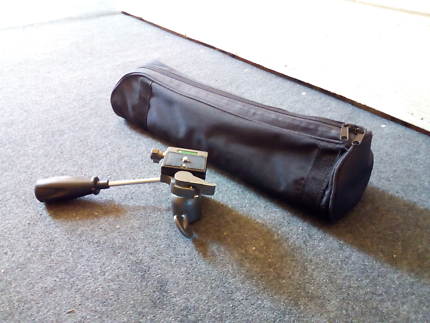 Tripod/monopod with  ball head for filming