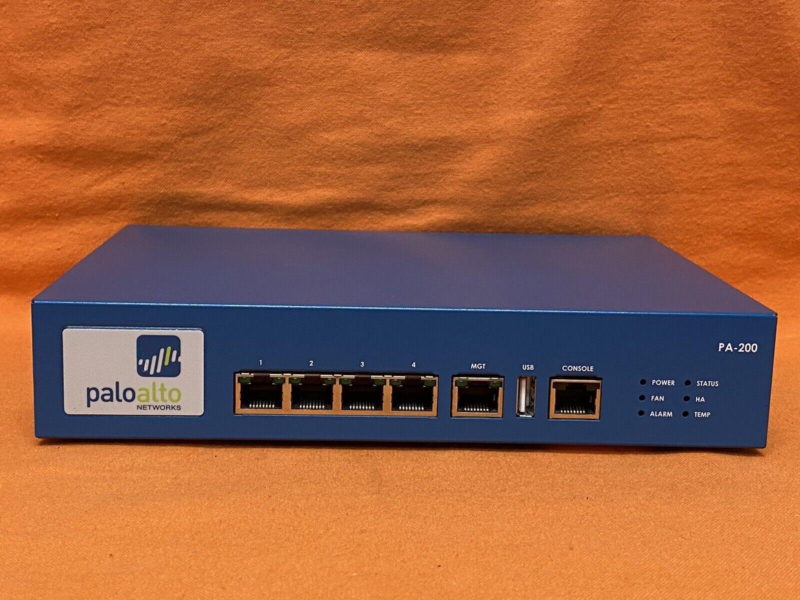 Palo Alto Networks PA-200 / PA200 Enterprise Firewall Security Appliance