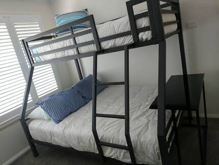 Bunk beds. 6 months old, used a couple of times.  Great condition