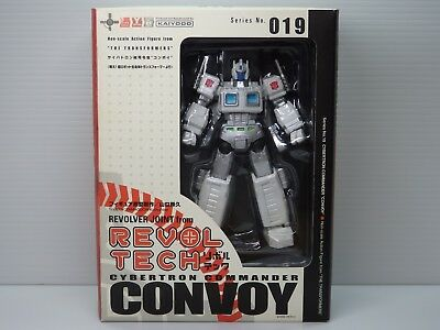 Kaiyodo Revoltech Cybertron Commander White Convoy Transformers Japan, used for sale  Shipping to United States