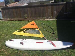 Sailboard windsurfer tencate
