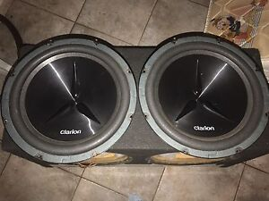 Twin Sub Box And Sub Woofers Martin Gosnells Area Preview