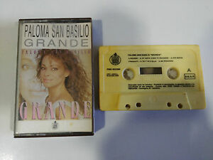 PALOMA-SAN-BASILIO-GRANDE-CINTA-TAPE-CASSETTE-HISPAVOX-1987-SPANISH-EDIT