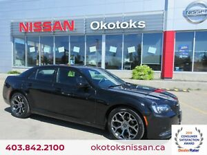 2017 Chrysler 300 S HEATED LEATHER, NAVIGATION, DUAL SUNROOF