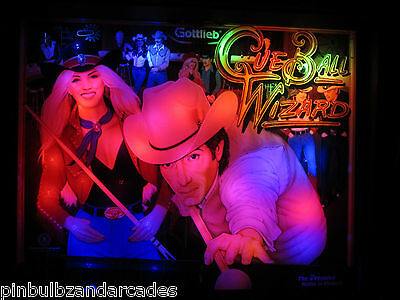 Cue Ball Wizard Complete LED Lighting Kit custom SUPER BRIGHT PINBALL LED KIT