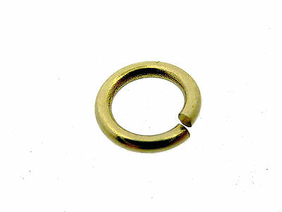 # F116 # BINDERING RUND 6 mm ÖSE OFFEN 333/000 GOLD STABIL VOM FACHHANDEL