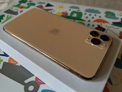 Apple iPhone 11 Pro Max 64GB Gold Unlocked 💯 🔋 Health Excellent