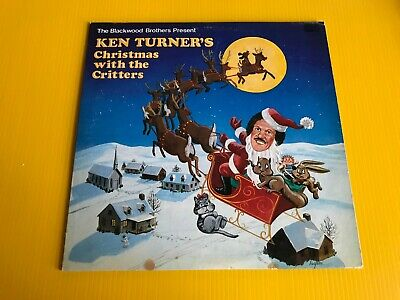 Blackwood Brothers Present Ken Turner Christmas With The Critters Skylite LP 85