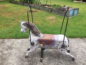 Merry go round horse from carnival ride Blackalls Park Lake Macquarie Area Preview