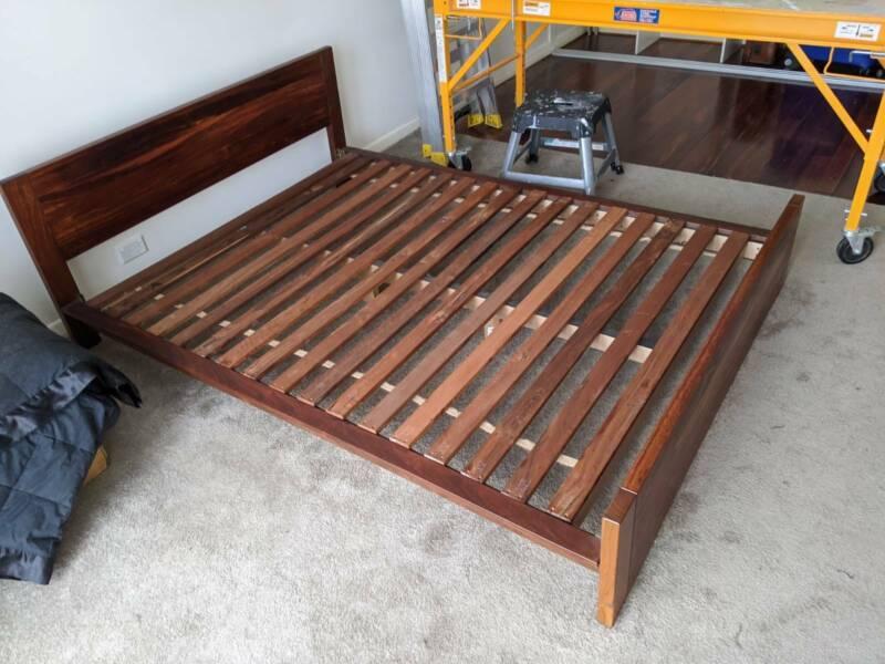 Futon Bed Base And Mattress Jarrah