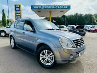 2011 Ssangyong Rexton 2.7TD AUTO 4X4 EX - 7 Seats. Full Leather. S/History.