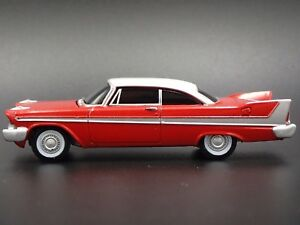 CHRISTINE 1958 PLYMOUTH FURY RARE 1/64 LIMITED COLLECTIBLE DIECAST MODEL CAR