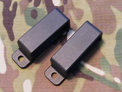Black Injection Molded Belt Loop 1.75