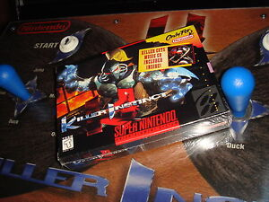 WOW !! BRAND NEW / NEUF EMBALLÉ SUPER NINTENDO 1995 KILLER INSTINCT !!!