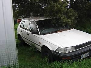 wrecking 1993 Toyota Corolla Penna Sorell Area Preview