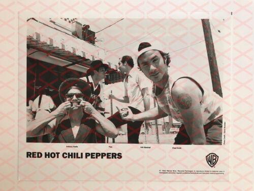 Red Hot Chili Peppers 1992 Promo Photo b&w 8x10 Arik Marshall Flea Kiedis