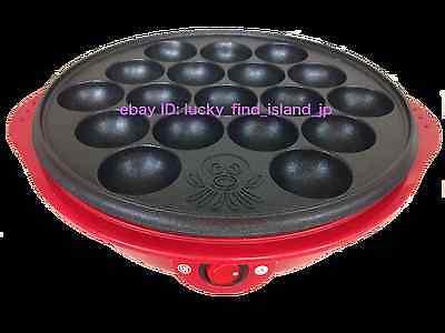 18-Ball TAKOYAKI Electric Griddle 100V 650W Octopus Dumpling Maker AOP-BP651 F/S