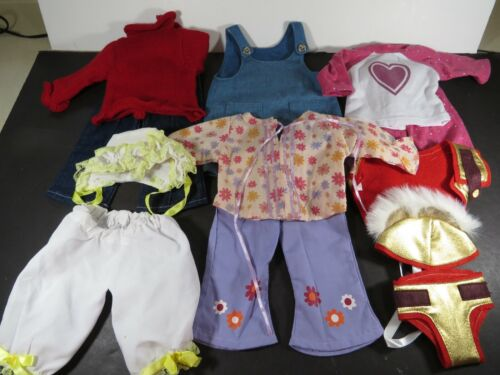 """12 pc Vintage 18"""" Baby Doll Clothes Springfield Fits American Girl Mix Lot B919"""