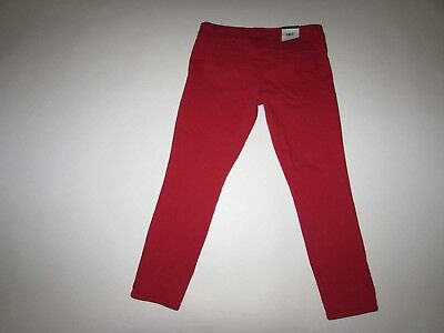NEW Tommy Hilfiger Spirit Crop Low Rise Straight Jeans Denim Pants Womens 12 NWT