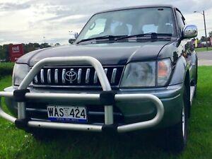 1998 Toyota LandCruiser PRADO GRANDE VX 4x4 8 Seater Auto SUV Leumeah Campbelltown Area Preview