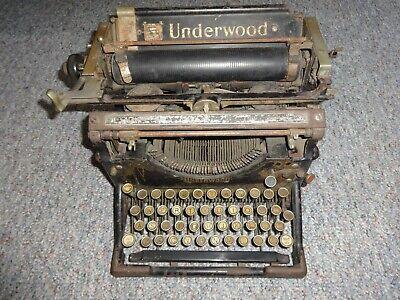 Antique Vintage 1920s Underwood #5 typewriter