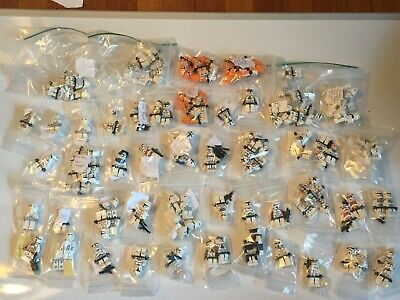 LEGO STAR WARS CLONE TROOPERS, PILOT, MINIFIGURES YOU CHOOSE FROM LIST