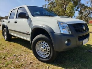 2007 Holden Rodeo 3.0L Turbo Diesel 4x4 automatic ute