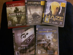 PlayStation 3 Games $5 each or 5 for $20
