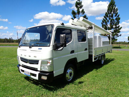 Fuso Canter 815 Wide Dual Cab Tray Trucks