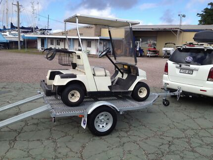 SEA-TRAIL GOLF KART TRAILER. ATM 749KG. FULL GALVANISED FRAME