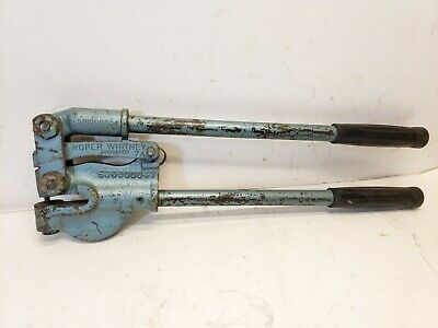 One Roper Whitney No. 7-a Punch Whitney Portable Metal Hand Punch Free Shipping